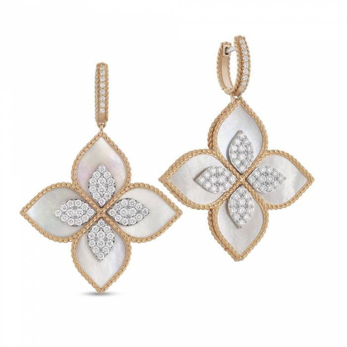 Earrings | Mother Of Pearl | Princess Flower
