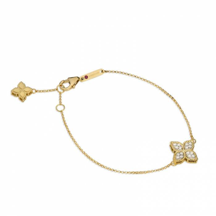 Bracelet Diamonds | Princess Flower
