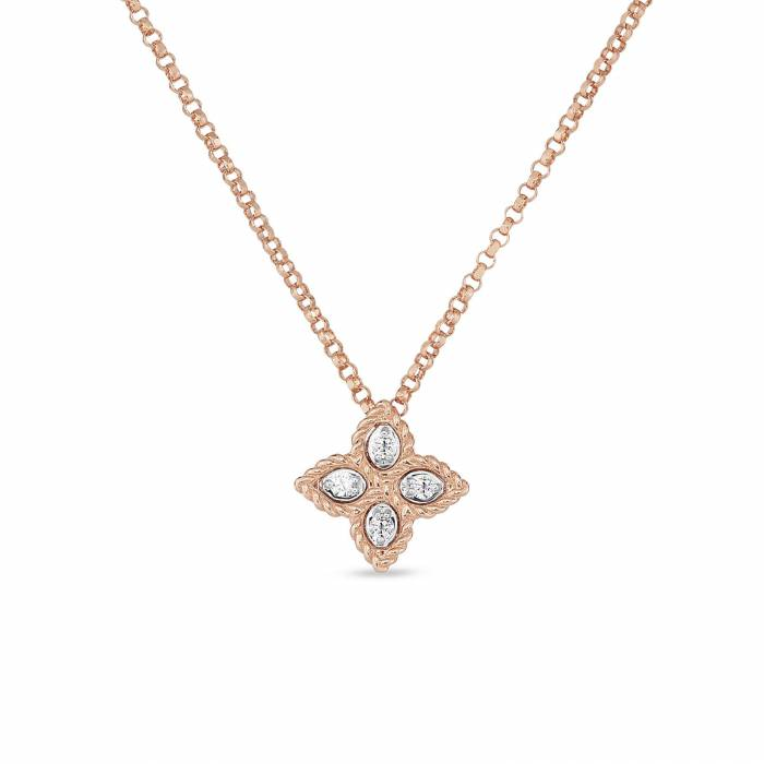 Pendant | Diamonds | Princess Flower